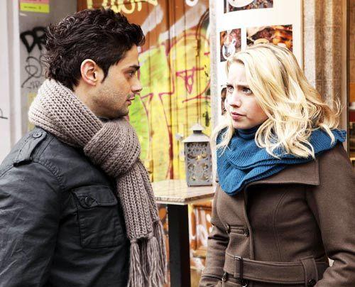 Haben sie eine gemeinsame Chance? Miriam und Sebastian. - Bildquelle: David Saretzki - Sat1