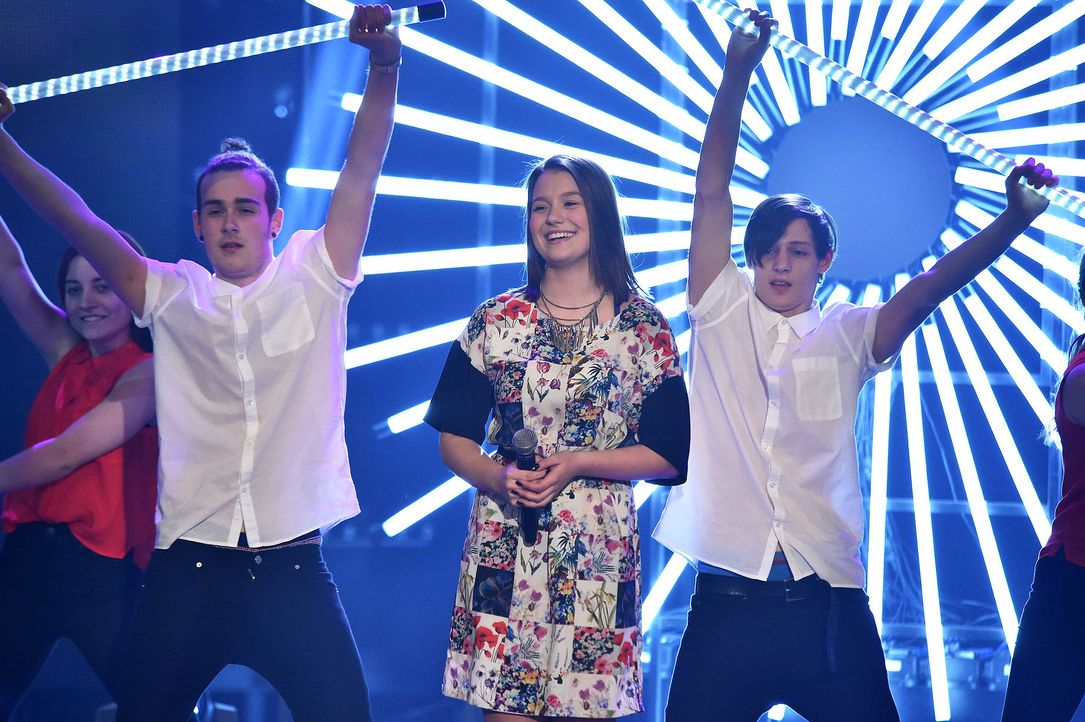 The-Voice-Kids-Stf03-Finale-Probe-29-Antonia-SAT1-Andre-Kowalski - Bildquelle: SAT.1/ Andre Kowalski