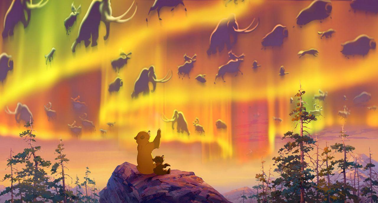 Kenai (l.) erlebt bei der Suche nach Kodas (r.) Mutter viele aufregende Abenteuer. - Bildquelle: Buena Vista Pictures Distribution. All Rights Reserved.