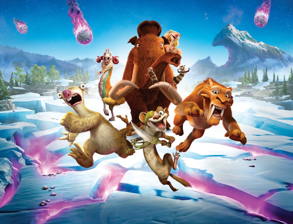 Ice Age - Kollision voraus! - Artwork - Bildquelle: 2016 Twentieth Century Fox Film Corporation. All rights reserved.