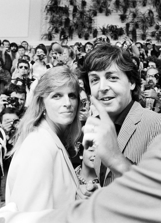 Paul-McCartney-Linda-1980-05-15-AFP - Bildquelle: AFP