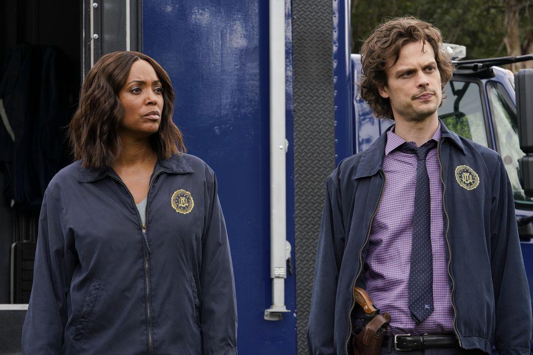 Dr. Tara Lewis (Aisha Tyler, l.); Dr. Spencer Reid (Matthew Gray Gubler, r.) - Bildquelle: Cliff Lipson ABC Studios / Cliff Lipson
