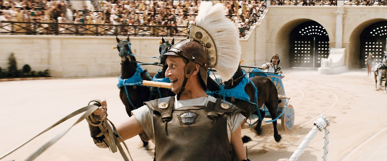 Brutus (Benoît Poelvoorde) schreckt vor keinem noch so fiesen Trick zurück ... ... - Bildquelle: Constantin Film