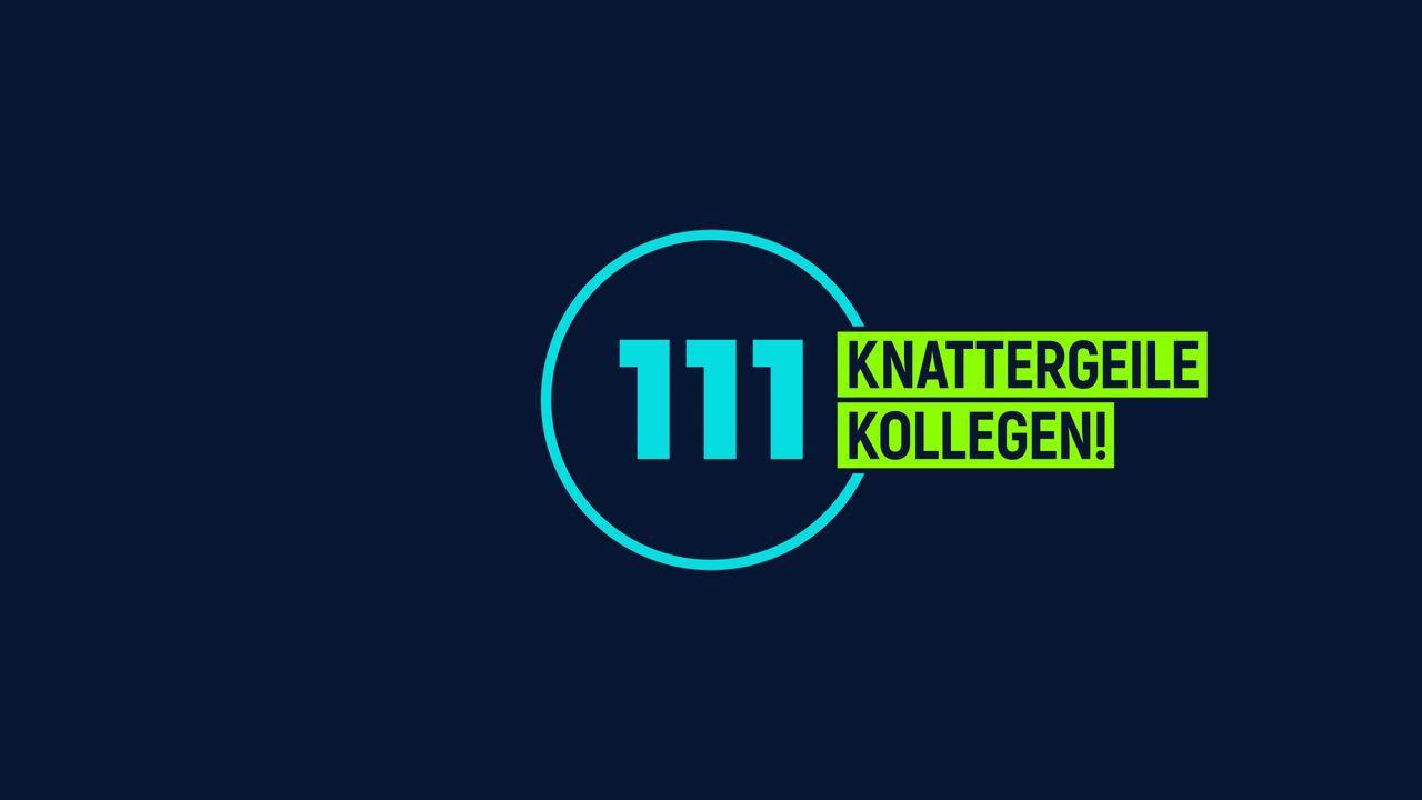 111 knattergeile Kollegen! - Logo - Bildquelle: SAT.1