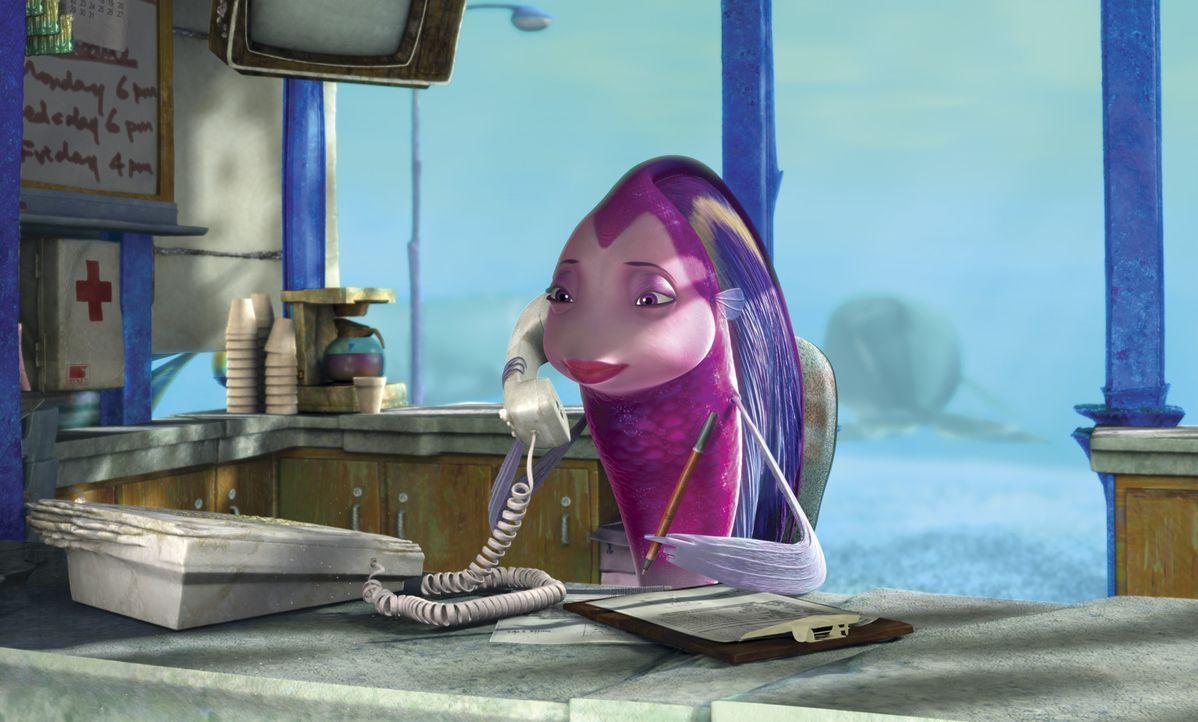 Die Engelfisch-Dame Angie macht sich große Sorgen um ihren besten Freund Oscar ... - Bildquelle: United International Pictures