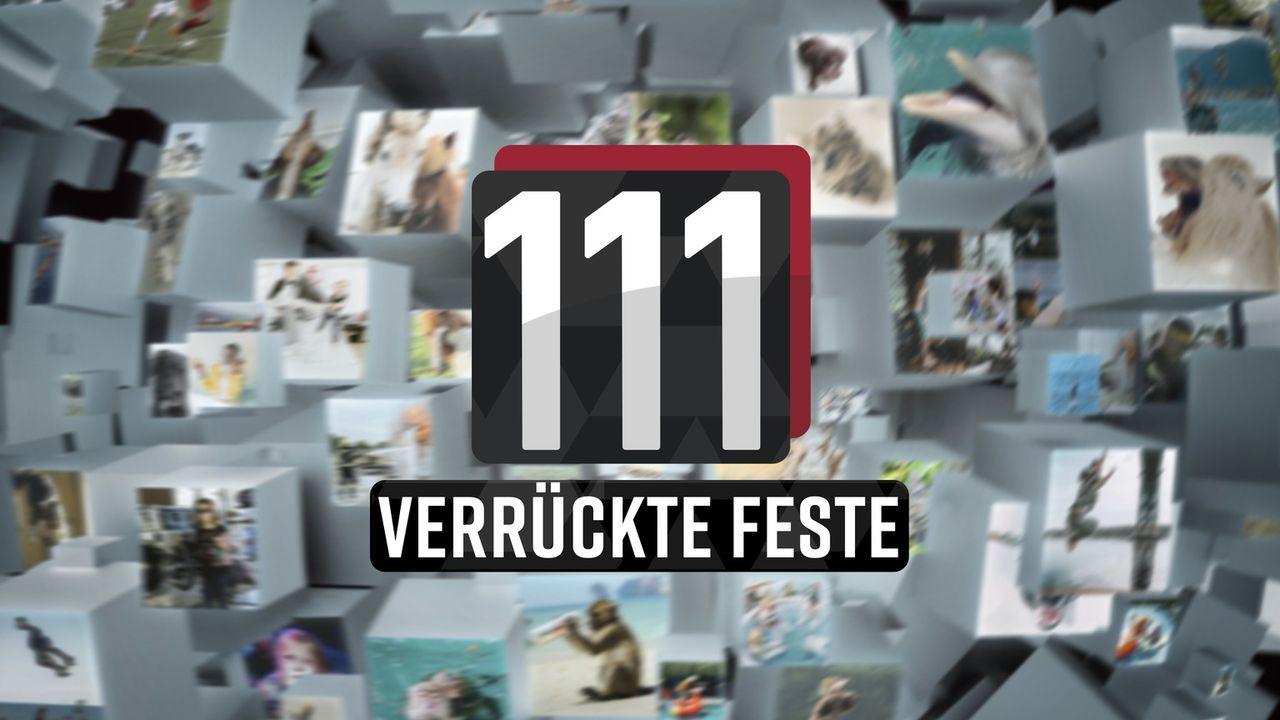 111 verrückte Feste - Logo - Bildquelle: SAT.1