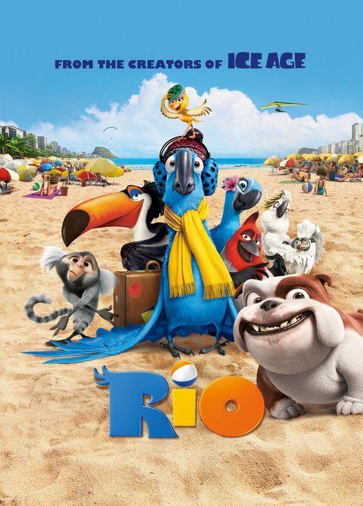 Rio - Plakatmotiv - Bildquelle: 2011 Twentieth Century Fox Film Corporation. All rights reserved.