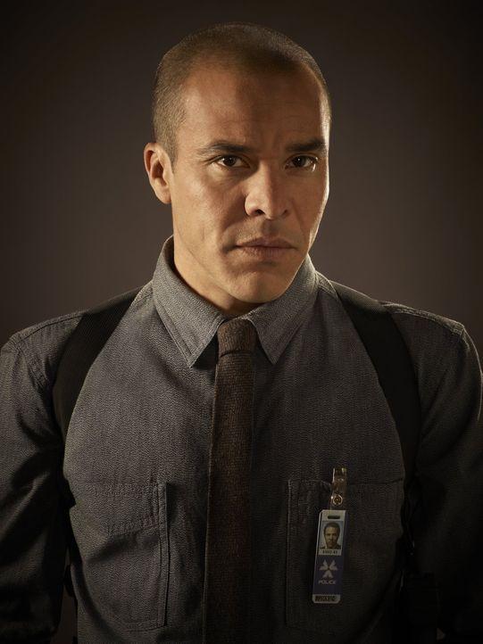 (1. Staffel) - Detective Richard Paul (Michael Irby) ist alles andere als begeistert von der Rückkehr seines Kollegen und dessen eigenwilligen Metho... - Bildquelle: Warner Bros. Television