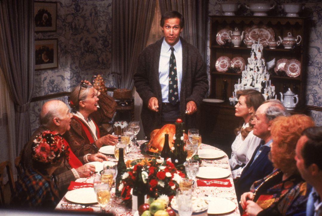 Clark (Chevy Chase, Mitte) - Bildquelle: 1989 Warner Bros. Entertainment Inc. All rights reserved.