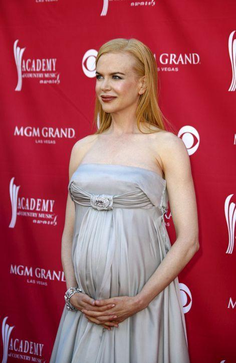 Die schwangere Nicole Kidman - Bildquelle: +++(c) dpa - Bildfunk+++ Verwendung nur in Deutschland