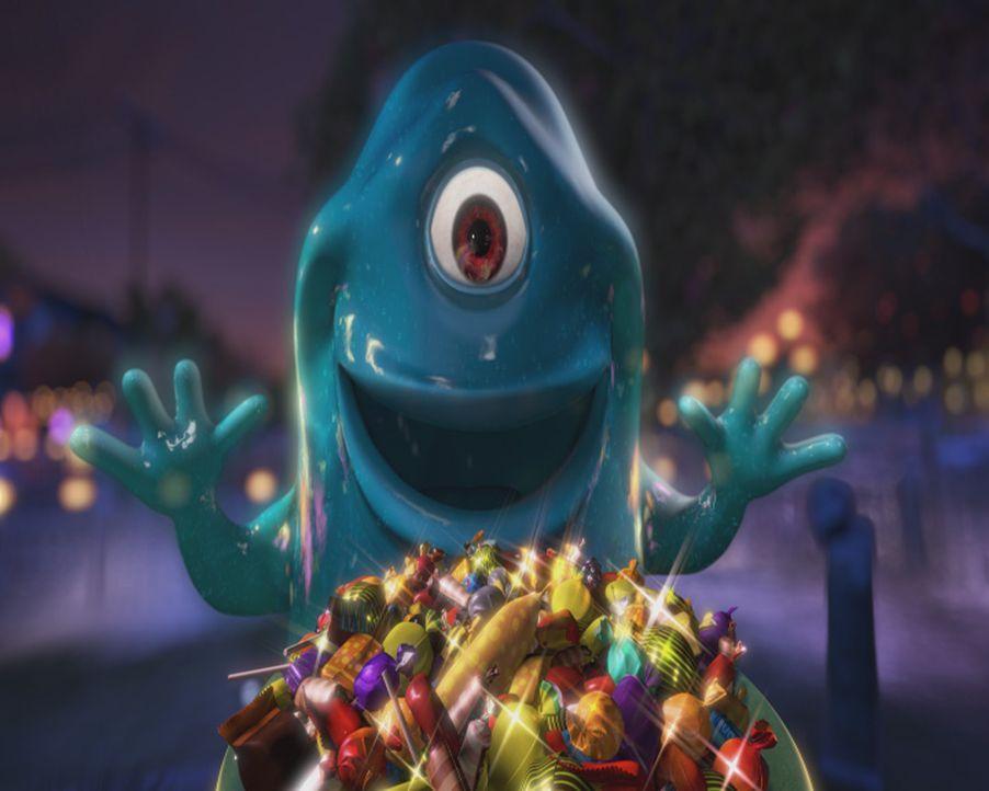 Die glibberige und unzerstörbare Riesen-Amöbe B.O.B. verfügt über einen unstillbaren Appetit ... - Bildquelle: TM &   2009 DreamWorks Animation L.L.C. All Rights Reserved.