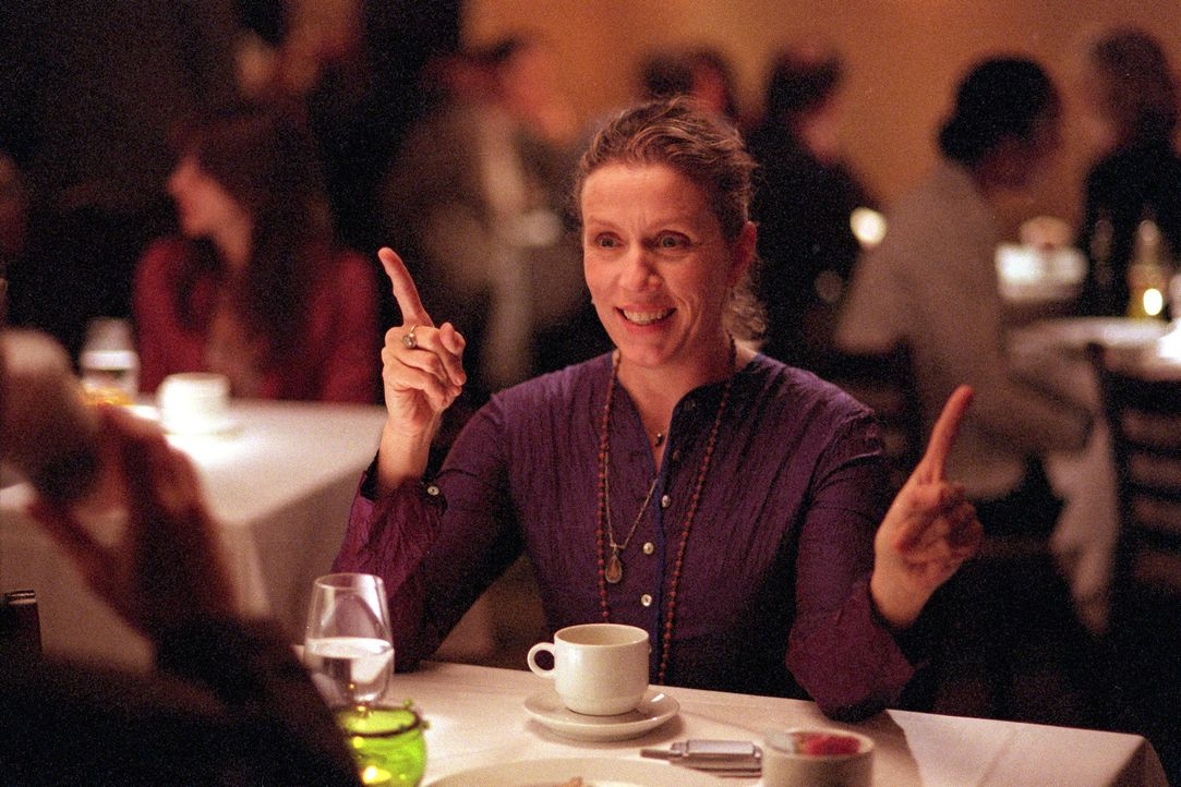 Jane (Frances McDormand) ist eine von Olivias besten Freundinnen. - Bildquelle: 2006 Sony Pictures Classics Inc. for the Universe excluding Australia/NZ and Scandinavia (but including Iceland). All Rights Reserved.
