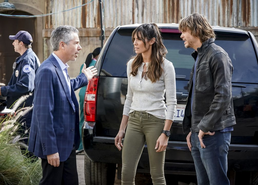 Kensi Blye (Daniela Ruah, M.); Marty Deeks (Eric Christian Olsen, r.) - Bildquelle: Sonja Flemming 2018 CBS Broadcasting, Inc. All Rights Reserved/Sonja Flemming