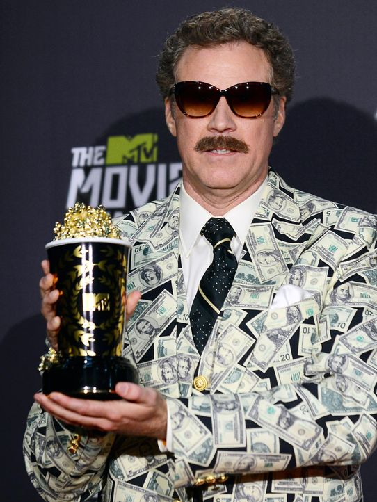 mtv-movie-awards-130414-Will-Ferrell-getty-AFP - Bildquelle: getty-AFP