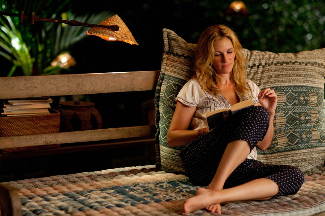 Um die Lust am Leben wiederzugewinnen, nimmt sie eine lange Auszeit und geht für ein Jahr auf Reisen: Liz Gilbert (Julia Roberts) ... - Bildquelle: 2010 Columbia Pictures Industries, Inc. All Rights Reserved.