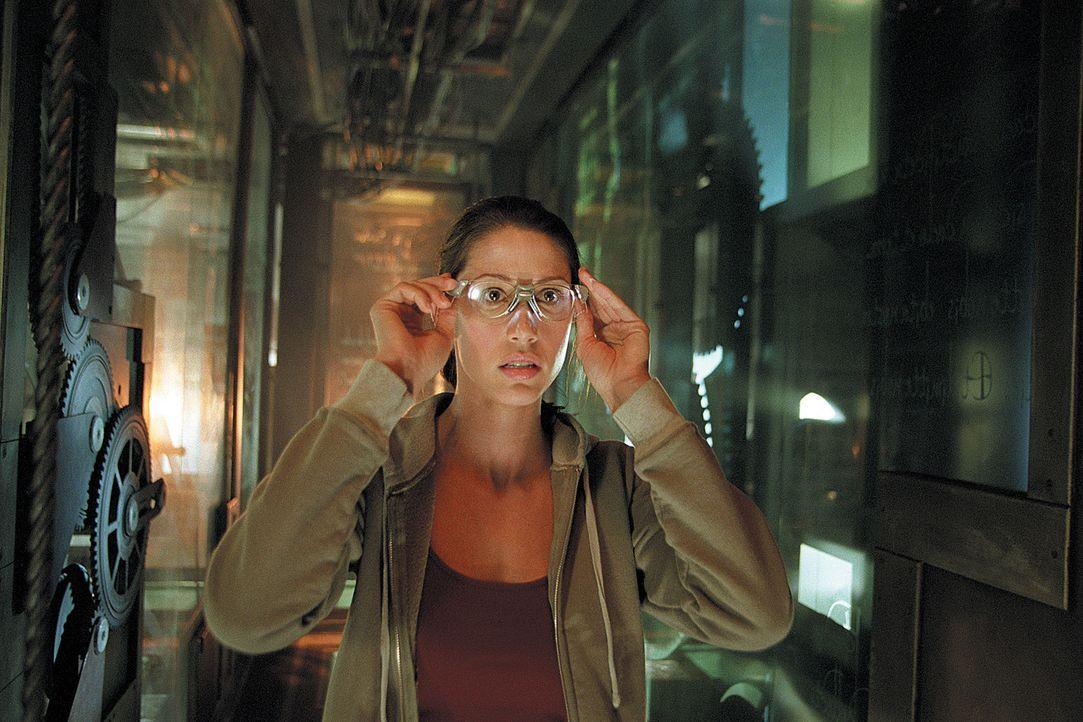 Kathy (Shannon Elizabeth) muss feststellen, dass im Haus ebenso mächtige wie rachsüchtige Kreaturen ihr Unwesen treiben, die jeden, der sich ihnen... - Bildquelle: 2003 Sony Pictures Television International. All Rights Reserved.
