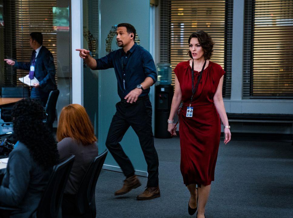 Jubal Valentine (Jeremy Sisto, l.); Isobel Castille (Alana De la Garza, r.) - Bildquelle: Mark Schafer 2019 CBS Broadcasting, Inc. All Rights Reserved. / Mark Schafer