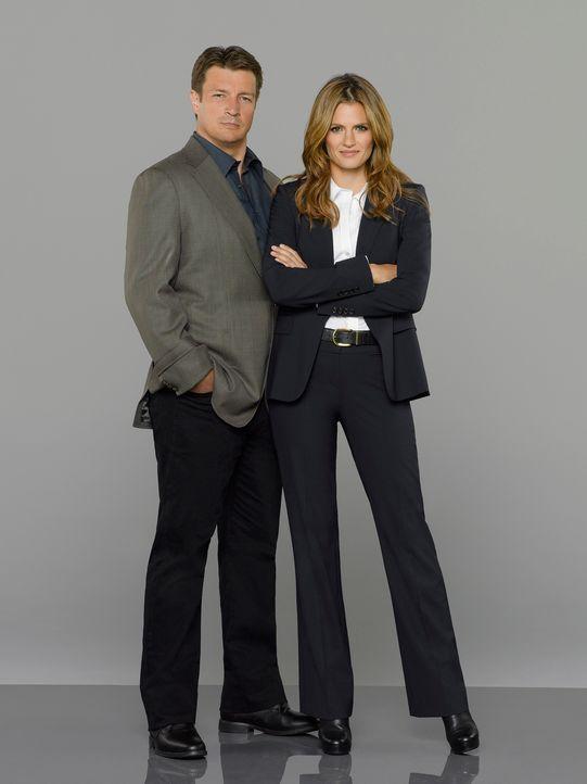 Kate Beckett & Richard Castle - Bildquelle: ABC Studios