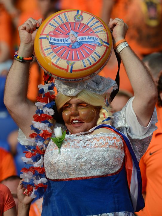 holland-fan-12-06-09-AFP.jpg - Bildquelle: AFP