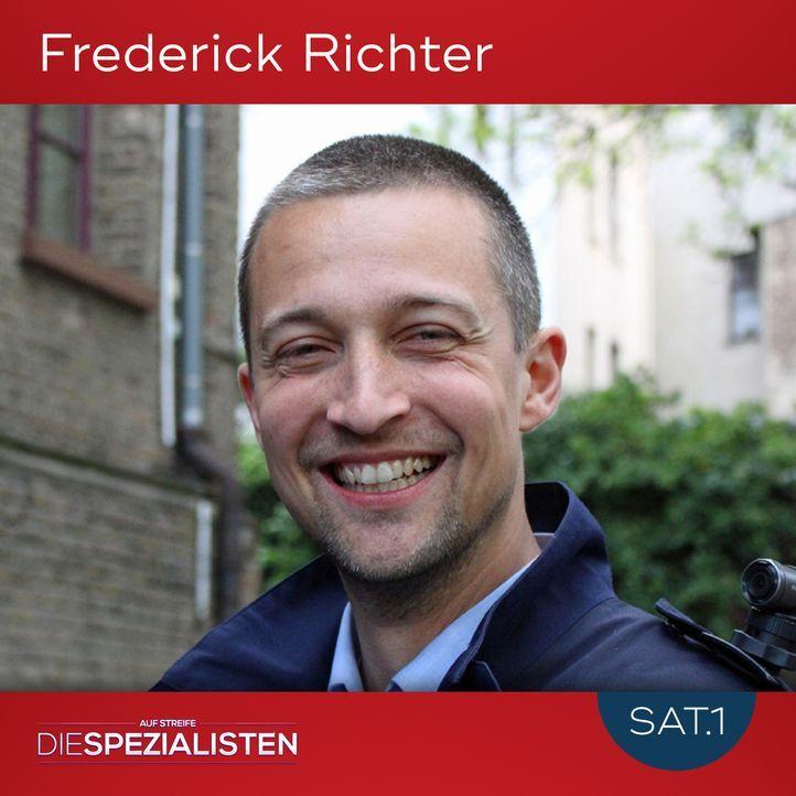 Frederick Richter - Bildquelle: SAT.1