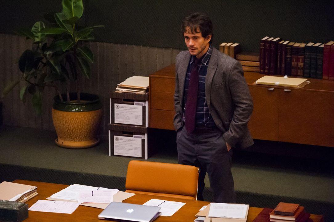 Eine komplette Familie wird am Essplatz versammelt, erschossen aufgefunden. Für Will Graham (Hugh Dancy) steht bald fest, dass es sich bei dem  Mö... - Bildquelle: Brooke Palmer 2012 NBCUniversal Media, LLC