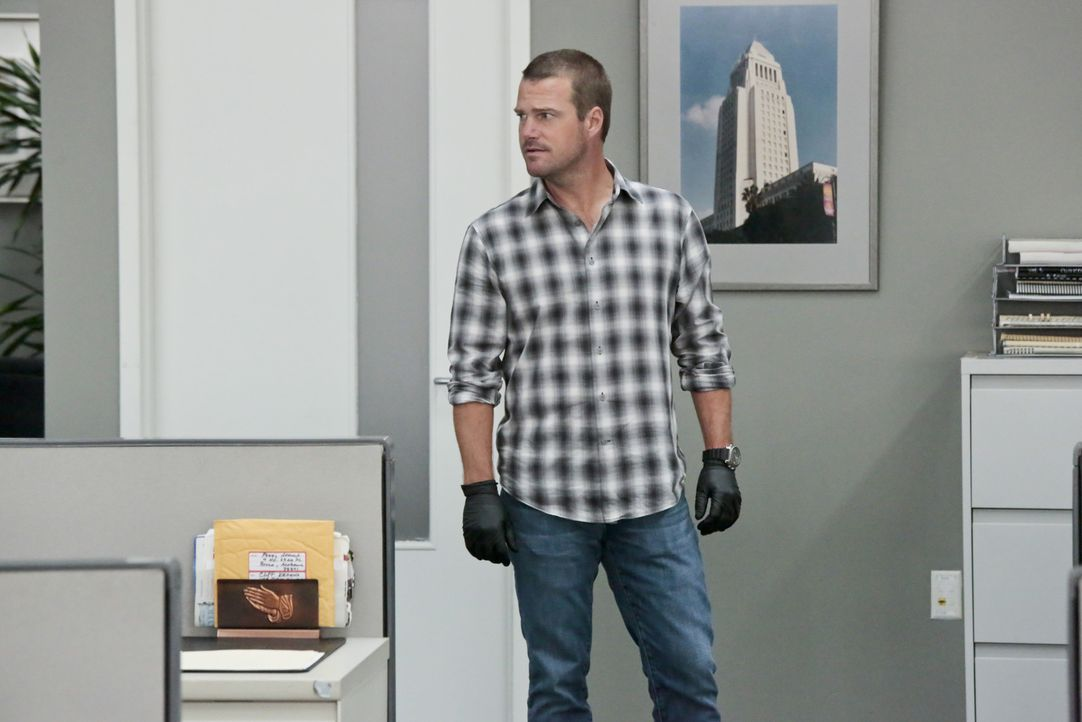 Muss einen neuen Fall lösen: Callen (Chris O'Donnell) ... - Bildquelle: 2014 CBS Broadcasting, Inc. All Rights Reserved.