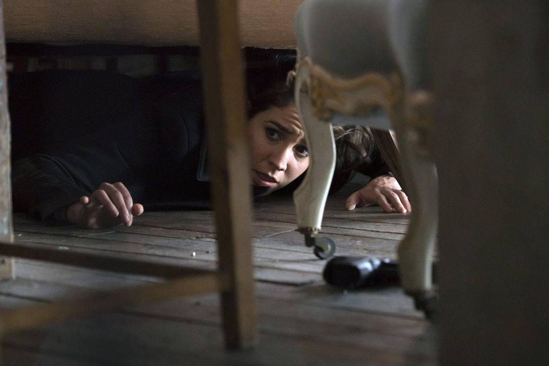Jagt einer Unterweltkurier, der immer einen Schritt voraus zu sein scheint: Zapata (Audrey Esparza) ... - Bildquelle: Warner Brothers