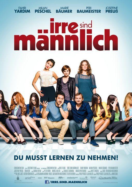 Irre sind männlich - Plakatmotiv - Bildquelle: 2014 Constantin Film Verleih GmbH