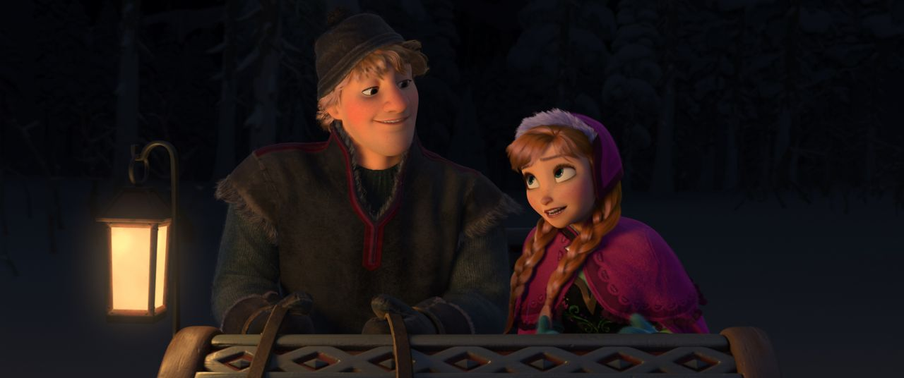 Kristoff (l.); Anna (r.) - Bildquelle: 2013 Disney. All Rights Reserved.