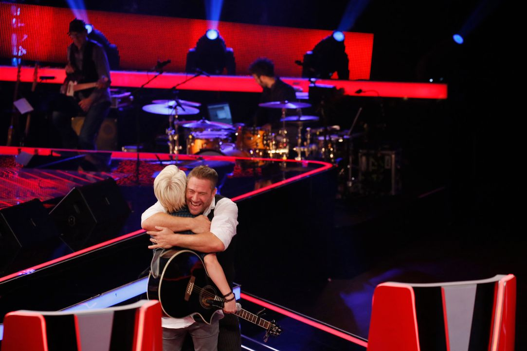 The-Voice-Kids-s04e02-Felix-3-SAT1-Richard-Huebner - Bildquelle: © SAT.1/ Richard Hübner