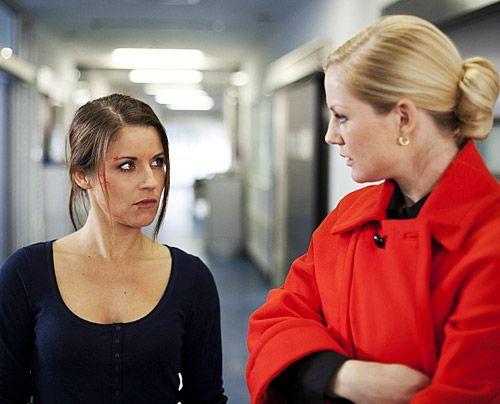 Bangen um Michaels Leben: Bea und Helena. - Bildquelle: David Saretzki - Sat1