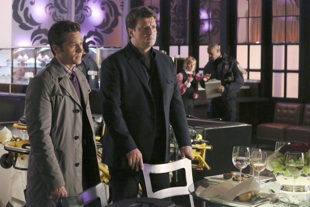 Beckett bekommt den Auftrag den Milliardär Erik Vaughn zu beschützen. Der fängt schon bald an, heftig mit ihr zu flirten, was Richard Castle (Nat... - Bildquelle: ABC Studios