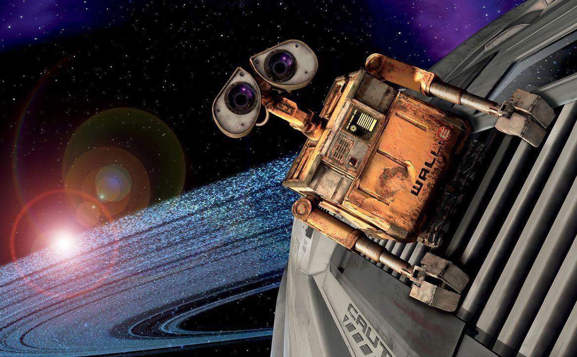 """Vor über 700 Jahren wurden Roboter des Typs """"Wall-E"""" auf die Erde geschickt, um diese aufzuräumen, denn die Menschen haben sie einfach total zugem... - Bildquelle: Touchstone Pictures"""