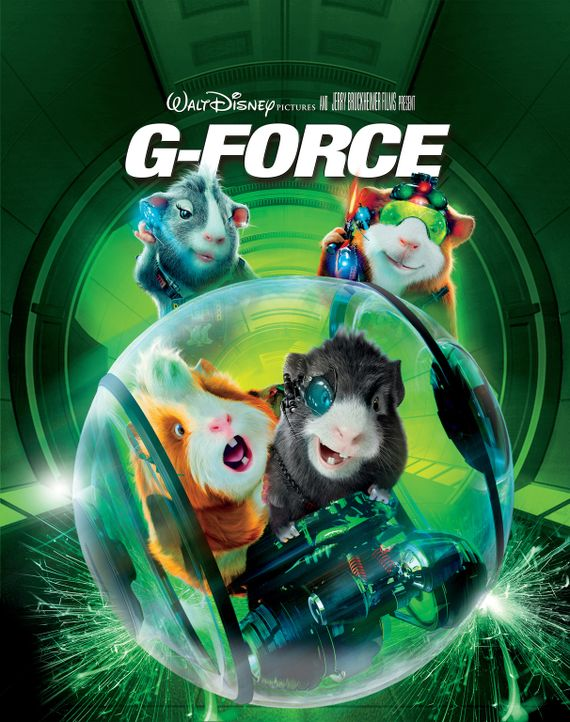 G-Force - Agenten mit Biss: Hurley (vorne l.), Juarez (hinten l.), Darwin (hinten r.) und Blaster (vorne r.) ... - Bildquelle: Disney Enterprises, Inc. and Jerry Bruckheimer Inc.  All Rights Reserved