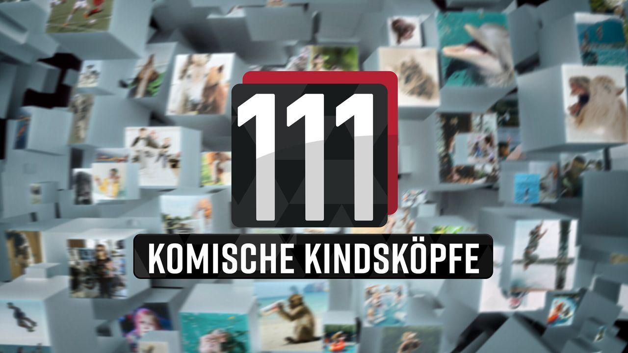 111 komische Kindsköpfe! - Logo - Bildquelle: SAT.1