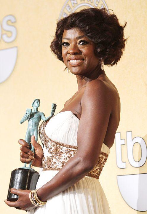 Schauspielerin Viola Davis bei den Screen Actors Guild Awards (SAG)  - Bildquelle: FayesVision/WENN.com