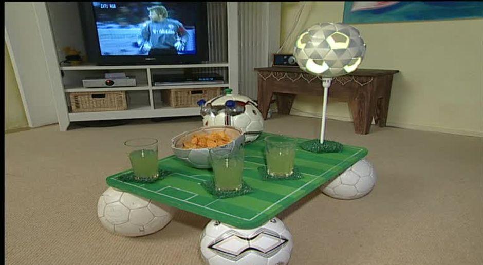 Fußball-Deko fürs Kinderzimmer basteln - SAT.1 Ratgeber