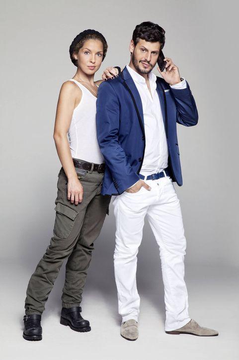 Sind voneinander angetan, doch werden Luca (Manuel Cortez, r.) und Nina (Maria Wedig, l.) zusammenfinden? - Bildquelle: SAT.1