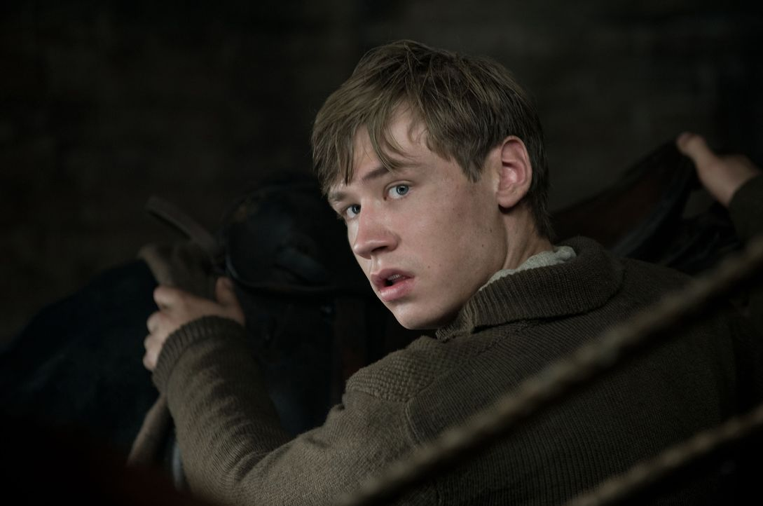 1915: Als Joey den Deutschen in die Hände fällt, soll er erschossen werden, doch dann macht der junge Soldat Günther (David Kross) seinen Kameraden... - Bildquelle: Dreamworks II Distribution Co., LLC.  All Rights Reserved