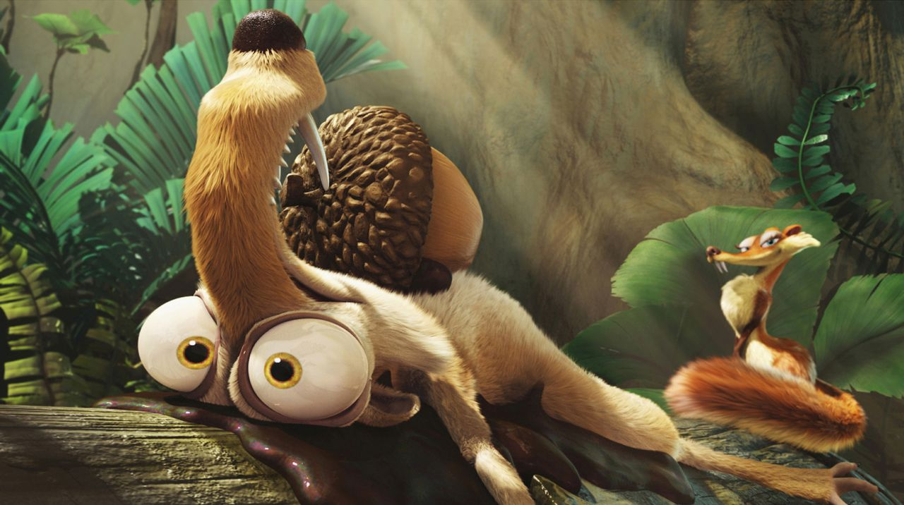 Scrat (l.); Scratte (r.) - Bildquelle: 2009 Twentieth Century Fox Film Corporation. All rights reserved./Blue Sky Studios