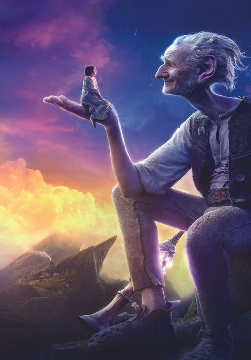 BFG - Big Friendly Giant - Artwork - Bildquelle: 2016 Constantin Film Verleih GmbH