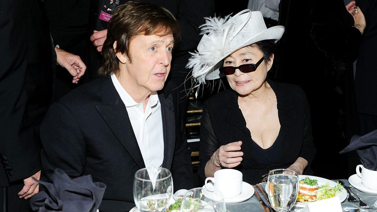 Sir-Paul-McCartney-Yoko-Ono-12-02-10-getty-AFP - Bildquelle: getty-AFP