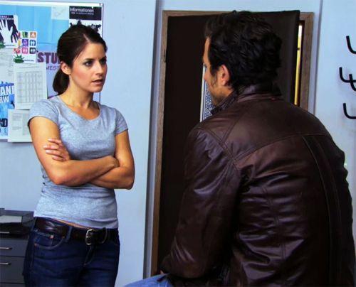Überraschend kommt Michael früher aus Venedig zurück. Er will dringend mit Bea reden und bittet um eine zweite Chance. - Bildquelle: Sat.1