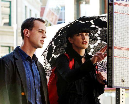 Arbeiten an einem neuen Fall: Abby (Pauley Perrette) und McGee (Sean Murray). - Bildquelle: CBS Television