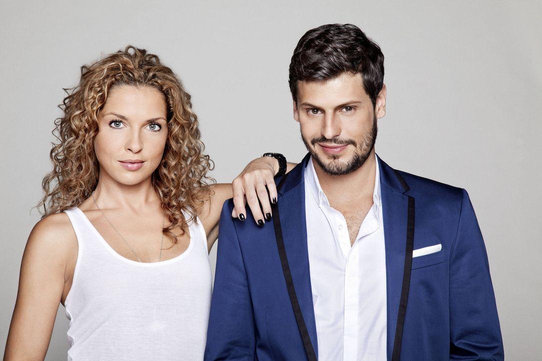 Werden Luca (Manuel Cortez, r.) und Nina (Maria Wedig, l.) zusammenfinden? - Bildquelle: SAT.1
