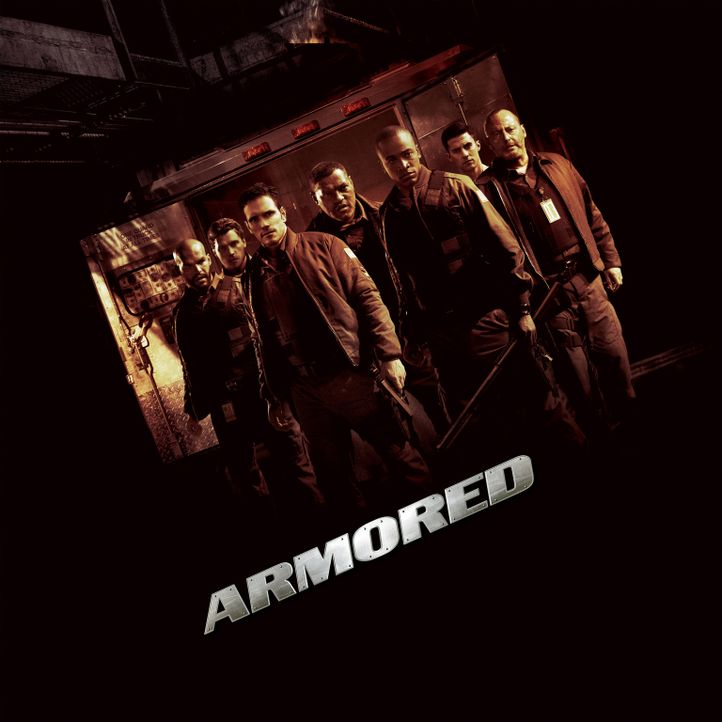Armored - Plakatmotiv - Bildquelle: 2009 Screen Gems, Inc. All Rights Reserved.