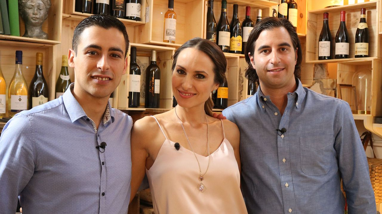 Daniele Zucca, Moderatorin Zoe Torinesi und Dario Tolone