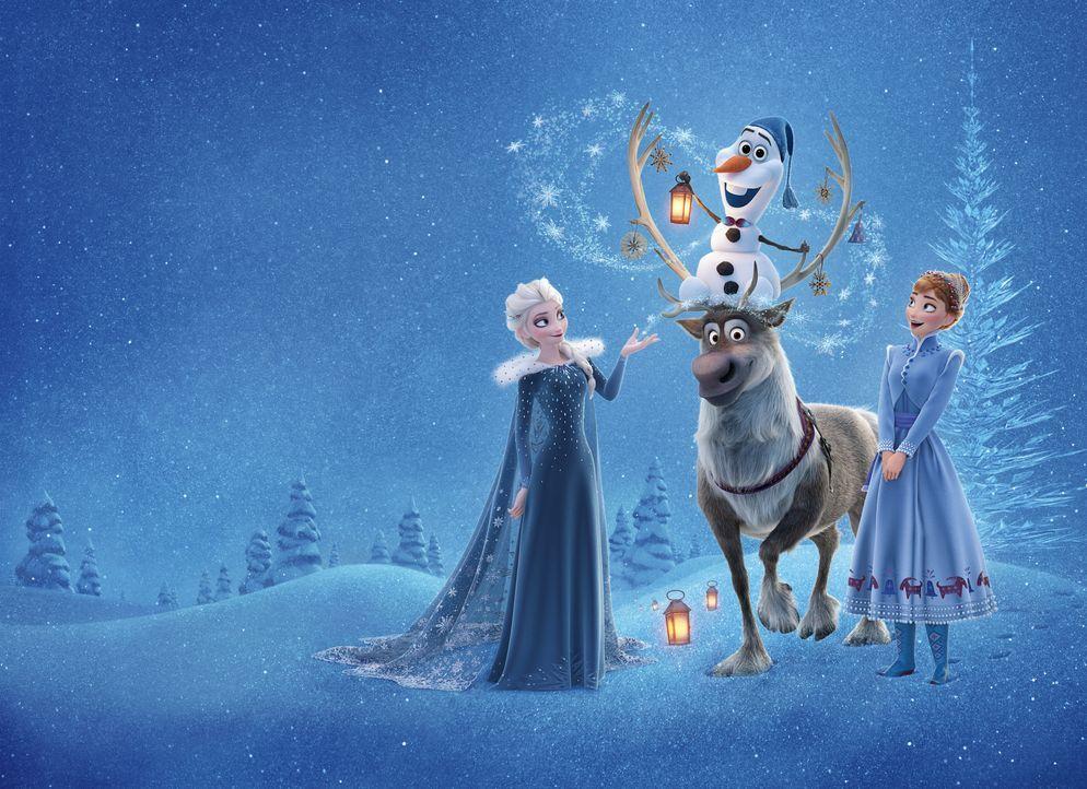 Die Eiskönigin - Olaf taut auf - Artwork - Bildquelle: Disney Enterprises, Inc.