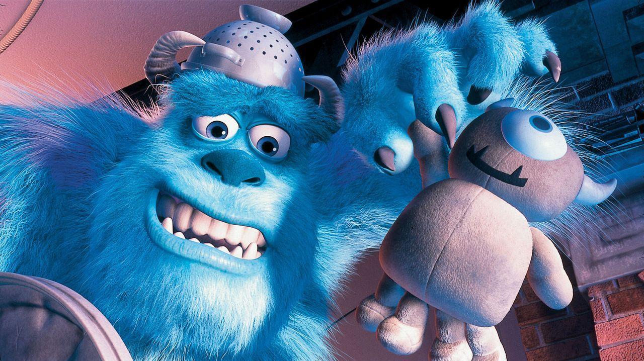 Mit Mikes einäugigem Teddy versucht Sulley (Bild) das Menschenkind bei Laune zu halten ... - Bildquelle: Buena Vista Pictures