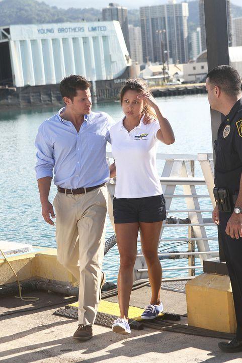 Ein Partyboot mit amerikanischen Jugendlichen an Bord wird überfallen. Von der Küstenwache alarmiert, finden Steve und sein Team das Boot verwaist... - Bildquelle: TM &   2010 CBS Studios Inc. All Rights Reserved.